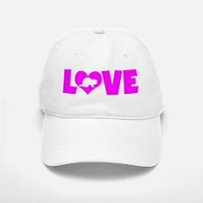 LOVE FERRETS Baseball Baseball Cap