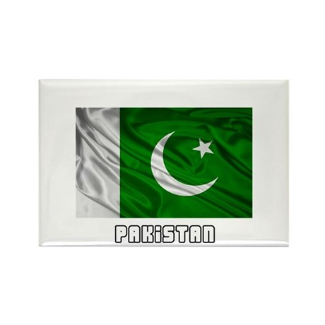 Flag of Pakistan Rectangle Magnet (10 pack)