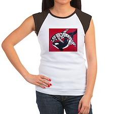 Spirit of the Orca Women's Cap Sleeve T-Shirt