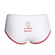 I'd Kill For Your Love! Women's Boy Brief