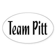 Team Pitt Oval Decal
