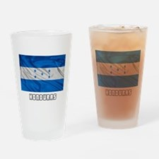 Flag of Honduras Drinking Glass
