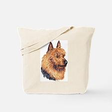 Australian Terrier Portrait Tote Bag