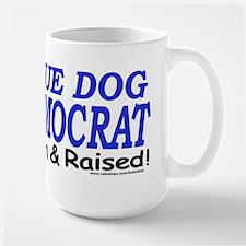 Large Mug Blue dog