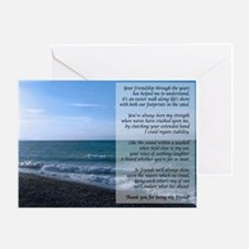 Dearest Friend Poem Greeting Card