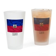 Flag of Haiti Drinking Glass