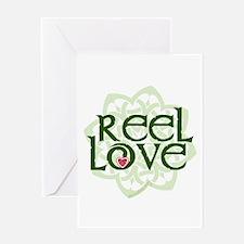 Reel Love for Irish Dance by DanceBay.com Greeting