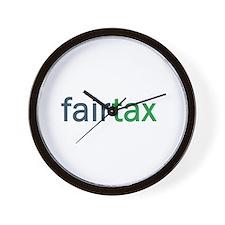Cute Fairtax Wall Clock