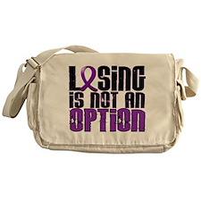 Losing Is Not An Option Alzheimers Messenger Bag
