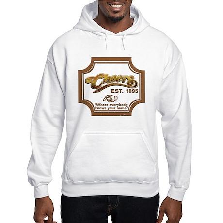 Weathered Look CHEERS Hooded Sweatshirt