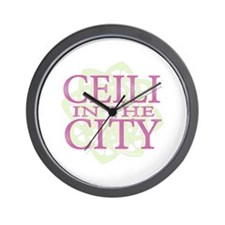 Ceili in the City Wall Clock