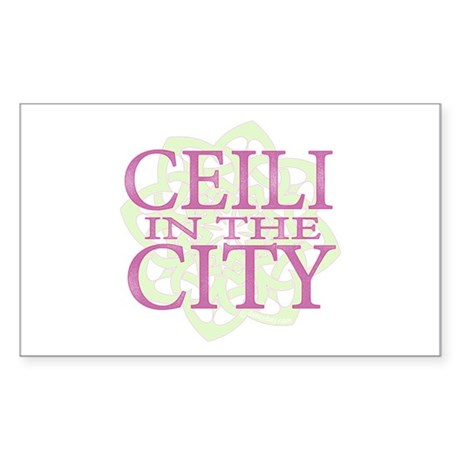 Ceili in the City Sticker (Rectangle)