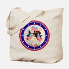 Roosevelt Bear Patriots Tote Bag