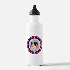 Roosevelt Bear Patriots Water Bottle