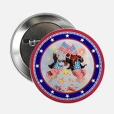 "Roosevelt Bear Patriots 2.25"" Button"
