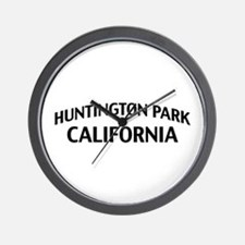 Huntington Park California Wall Clock