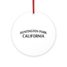 Huntington Park California Ornament (Round)
