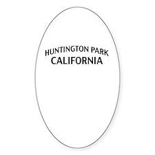 Huntington Park California Decal