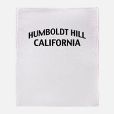 Humboldt Hill California Throw Blanket