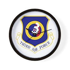 3rd Air Force Wall Clock