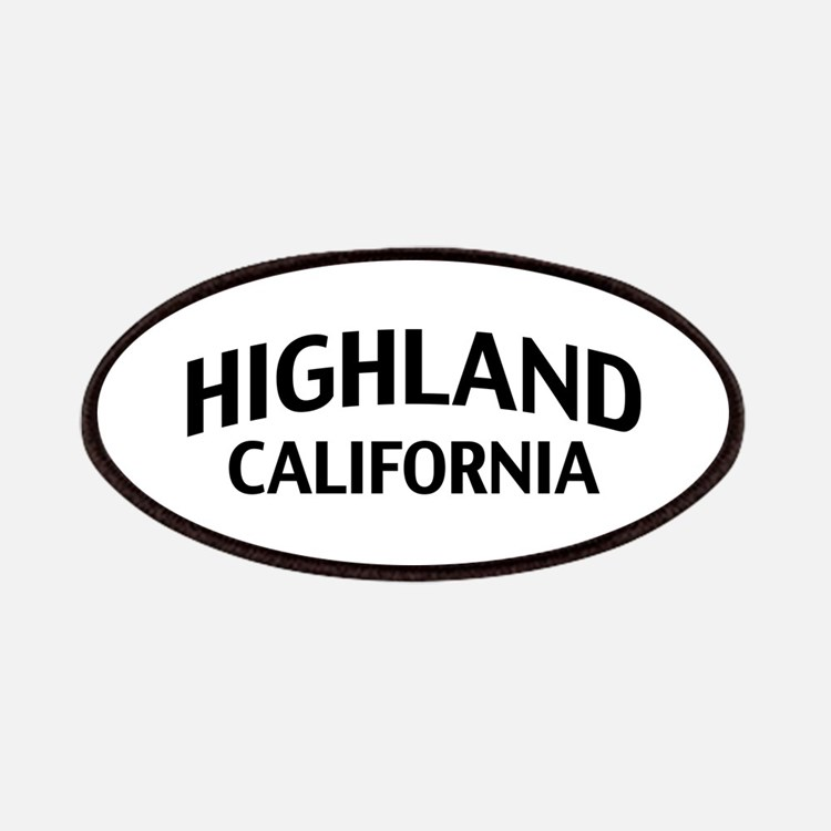 Highland California Patches