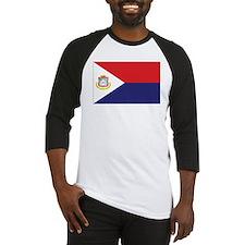 Sint Maarten Flag Baseball Jersey