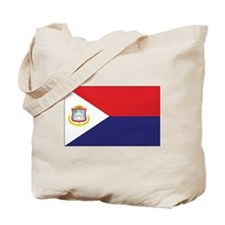 Sint Maarten Flag Tote Bag