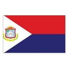 Sint Maarten Flag Decal