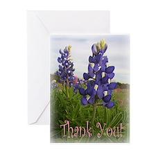 Texas country photos. Texas W Greeting Cards (Pk o
