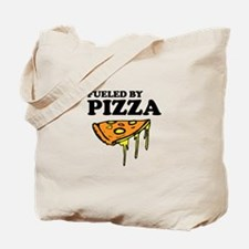 Fueled by Pizza Tote Bag