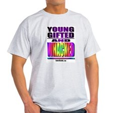 Young, Gifted & Whacked Ash Grey T-Shirt