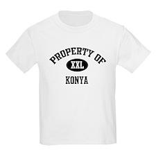 Property of Konya Kids T-Shirt