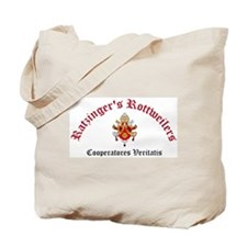 Ratzinger's Rottweilers Tote Bag