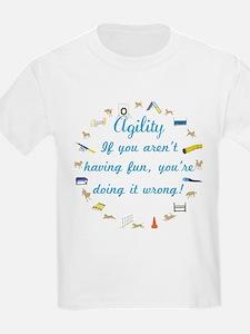 Agility Having Fun T-Shirt