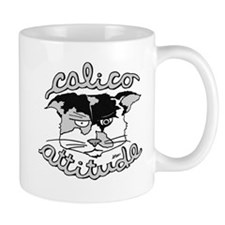 Calico Attitude Small Mug
