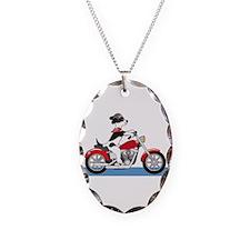 Dog Motorcycle Necklace