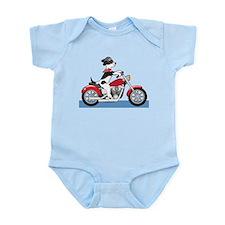 Dog Motorcycle Infant Bodysuit