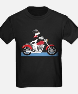 Dog Motorcycle T