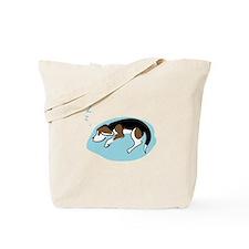 Sleeping Beagle Tote Bag