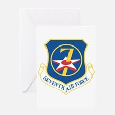 7th Air Force Greeting Card