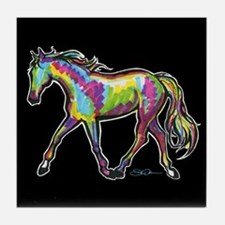 Painted Pony Tile Coaster