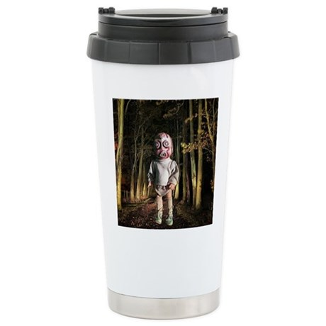 Odo the alien Stainless Steel Travel Mug