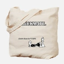 Checkmate I Win Tote Bag