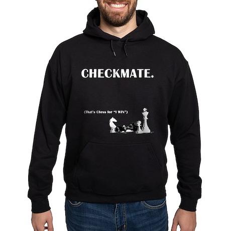 Checkmate I Win Hoodie (dark)