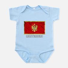 Flag of Montenegro Infant Bodysuit