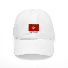 Flag of Montenegro Baseball Cap