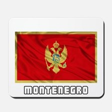 Flag of Montenegro Mousepad