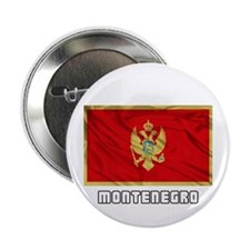 """Flag of Montenegro 2.25"""" Button (10 pack)"""