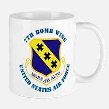7th Bomb Wing with Text Mug