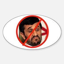 FREE IRAN NOW Sticker (Oval 10 pk)